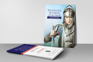 Defender-Winning-Women-Postcard