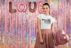 valentine-s-t-shirt-mockup-featuring-a-girl-against-a-balloons-love-sign-25404